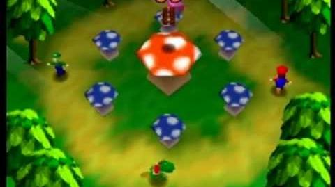 Mario Party- 4 Player Minigame - Musical Mushroom