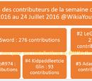 LostSword/Liste des contributions du 18 Juillet 2016 au 24 Juillet 2016