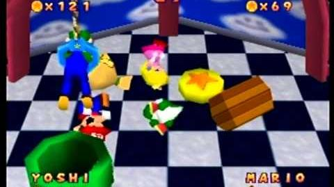 Mario Party- 1 vs. 3 Minigame - Crane Game