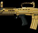 Золотой Enfield L85A2 Custom