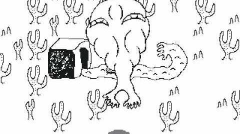 Yume Nikki - Strange thing in the white desert