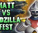 Matt vs Godzilla-Fest 2016