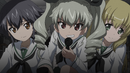 Pepperoni Anchovy and Carpaccio in Ooarai school uniform.png