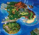 Ilustraciones de Pokémon Sol y Pokémon Luna