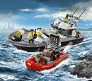 60129 Le bateau de patrouille de la police