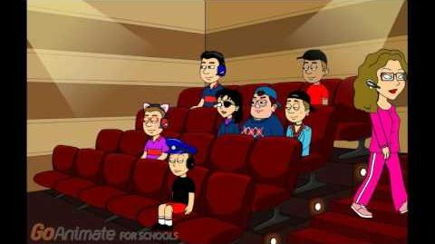 Clyde Misbehaves At The Movies And Gets Grounded