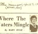 Where The Waters Mingle by Mary Hyre 4/9/67