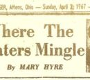Where The Waters Mingle by Mary Hyre 4/2/67