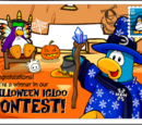 Halloween Igloo Contest Winner postcard