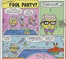 Mr. Krabs's Pool Party!