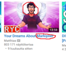 Why does YouTube recommend Markiplier stuff?