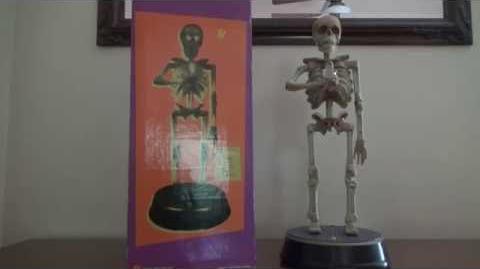 "Gemmy Animated Halloween ""Illuminated Skeleton"" (Rare)"