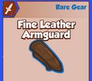 Fine Leather Armguard