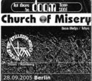 The Second Coming European Tour 2005