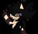 Tamashī the Dark Hedgehog (DA)