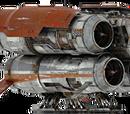 クワッドリジェット積み替え牽引船