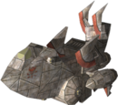 Pirate Z-3005 Wolfhound Heavy Fighter