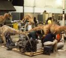 Velociraptor practical effects (The Lost World)