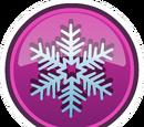 Interface de la Fête Givrée de la Reine des Neiges