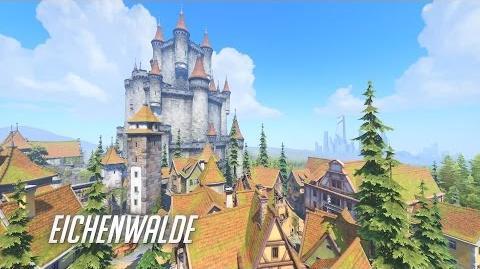 Aperçu de la nouvelle carte d'Overwatch - Eichenwalde