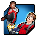 Peter Parker (Earth-TRN562) and Miles Morales (Earth-1610) from Marvel Avengers Academy 010.png