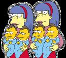 尼尔森和舍利与特里的双胞胎孩子们