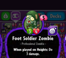 Foot Soldier Zombie