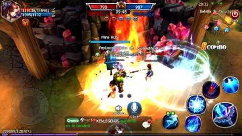 Batalla por Recursos (sword of chaos)