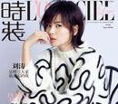 刘涛登杂志封面