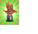 Worth 250,000 Zeni Hercule Statue (Bronze)