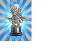 Worth 500,000 Zeni Hercule Statue (Silver)