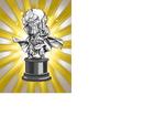 Worth 1,500,000 Zeni Hercule Statue (Platinum)
