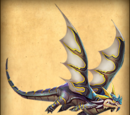 Dragones atacantes implacables