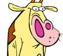Cow and Chicken characters