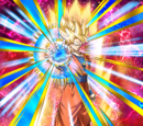 Immovable Entity Super Saiyan Goku