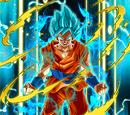 Divine Evolution Super Saiyan God SS Goku