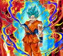 The Paramount Saiyan Super Saiyan God SS Goku