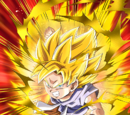 Saiyan Power Unleashed Super Saiyan Goku (GT)