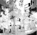 Antiguo hogar de Sugimoto en llamas.jpg