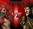 Akuma VS Shinnok