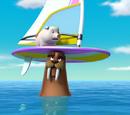 Pups Save a Windsurfing Pig/Trivia