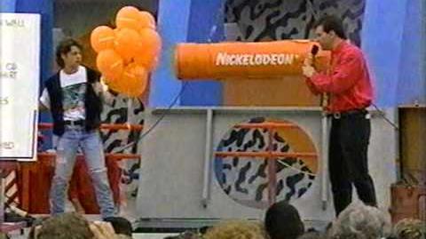 Burial of the Nickelodeon Time Capsule 4 30 92 c. Nickelodeon Viacom 1992