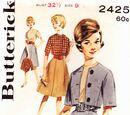 Butterick 2425 A