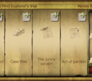 The First Explorer's trial