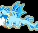Dragon du Torrent glacé