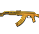 AK47-Knife-Dual Mag Ultimate Gold