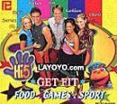 Series 3 - Get Fit: Food/Games and Sport (Video CD)