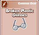 Broken Plastic Glasses