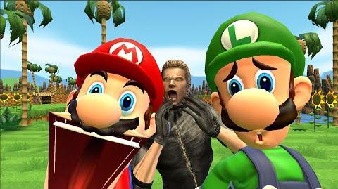 Ask Mario & Luigi & Wesker and Friends Episode 1