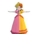 Daisy FORFUTURE/An other difference between Peach and Daisy's dresses